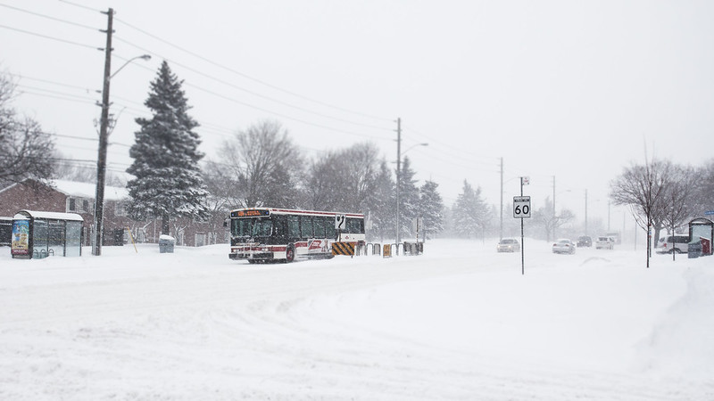 TTC through the Snow [EOS 5DMK2 | EF 17-40L@27mm | 1/1000s | f/7.1 | ISO100]