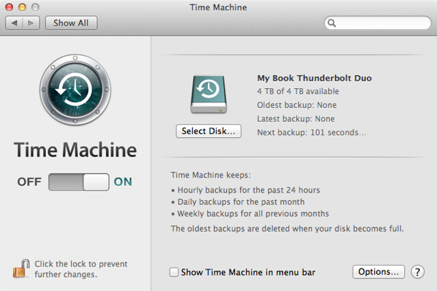 does time machine backup iphoto