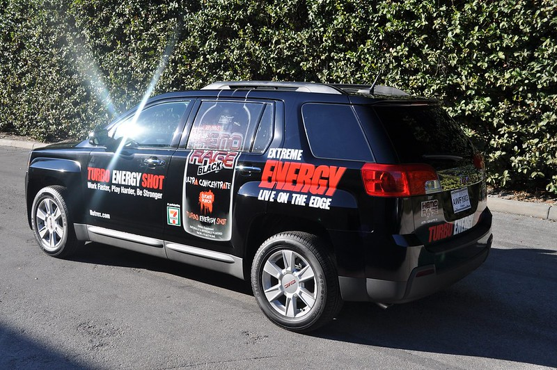 SUV vehicle wrap by TechnoSigns