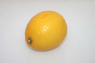 06 - Zutat Bio-Zitrone / Ingredient lemon