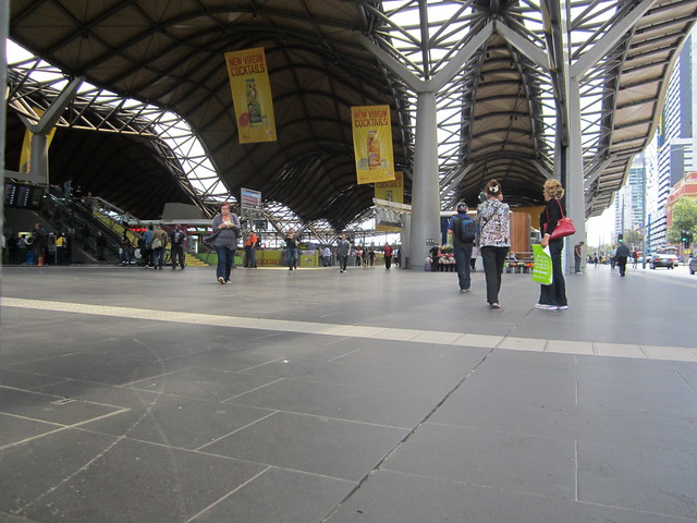 Entrance to Southern Cross station