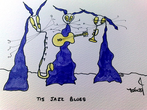 Tis Jazz Blues by Tis Art