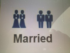 Facebook same-sex marriage icons