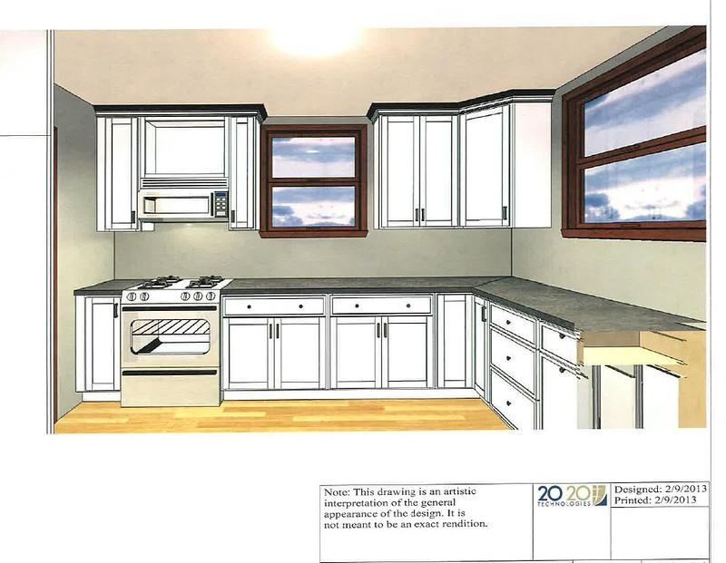 Small u shaped kitchen layout take 2 for Awkward shaped kitchen designs