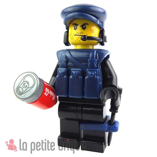 Lego Minifig Military by LaPetiteBrique.com