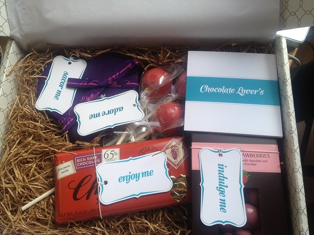 Lots of chocolate decadence in the Sweet Lauren Cakes curated Chocolate Lover's Box!