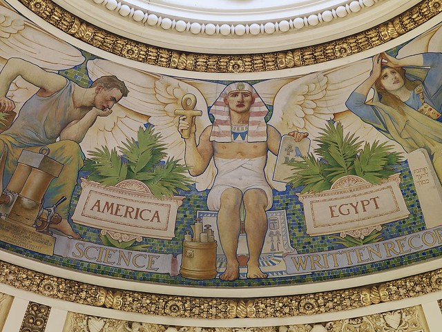 Furniture In Trees together with Interior Design Closed moreover Charles Sprague Pearce And Woodcutters additionally File  Great Hall  Detail of ceiling and cove showing Milton plaque  Library of Congress Thomas Jefferson Building  Washington  D C    LOC besides School Library Murals. on jefferson library murals