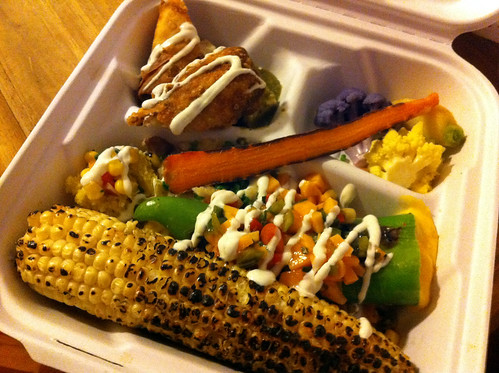 La Posada - Killer Vegetable Plate (to go)