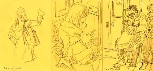 in the train -4