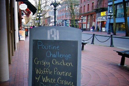 Vancouver Foodster's Poutine Challenge