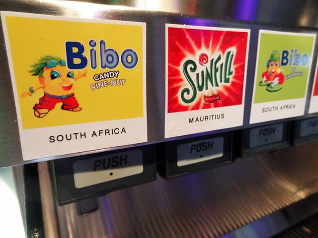 world of coke flavors - bibo-candy-pine-nut flavor