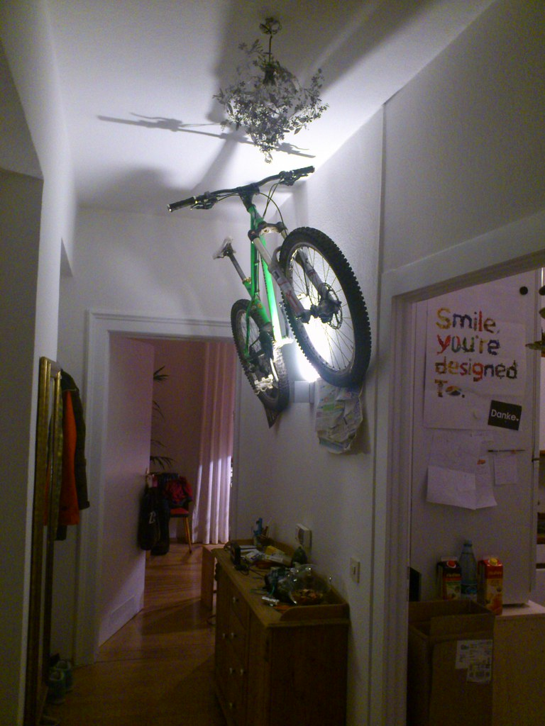 What S The Verdict On Hanging Bikes Off The Wall