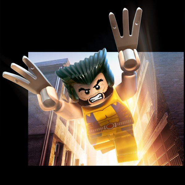 LEGO Marvel Super Heroes Game Art