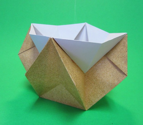 Origami Box Bowl Container Pot Vase Origami Visionz