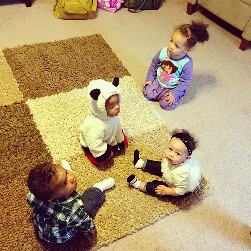 Play date with the #hickstwins and #aubreyava