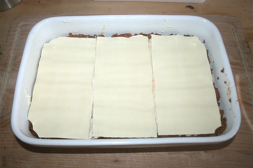 71 - Lasagneplatten einlegen / Add more lasagna sheets