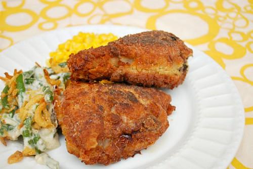 Cornflake Baked Crispy Chicken