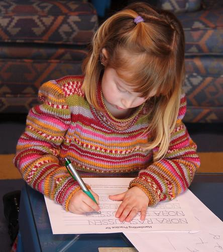 Nora Writing