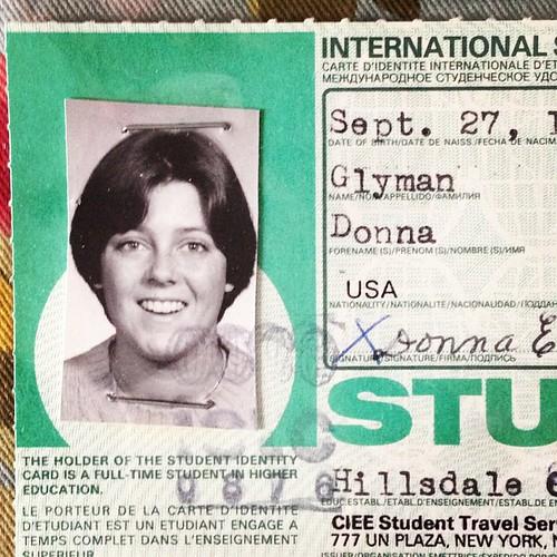 My Dorothy Hamill haircut. Circa 1978