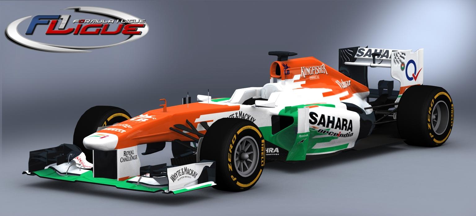 Sahara Force India F1 Background 8