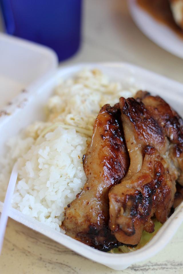 Teri chicken plate