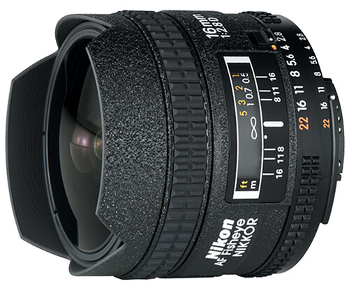 Nikon 16mm f/2.8D Fisheye