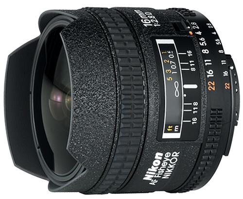 Nikon 16mm f/2.8D Fisheye