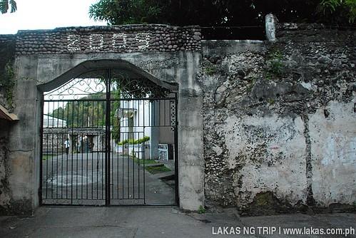 Gate of Fuerza de San Jose at Banton Island, Romblon