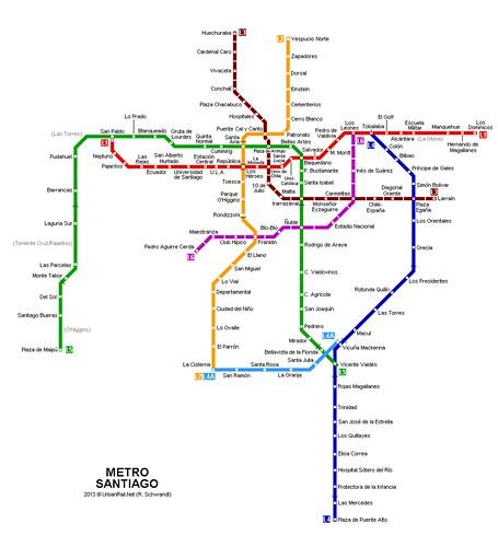 聖地牙哥地鐵圖