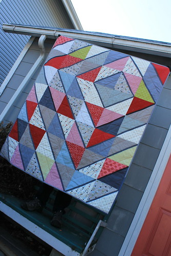 Gray Diamonds Quilt