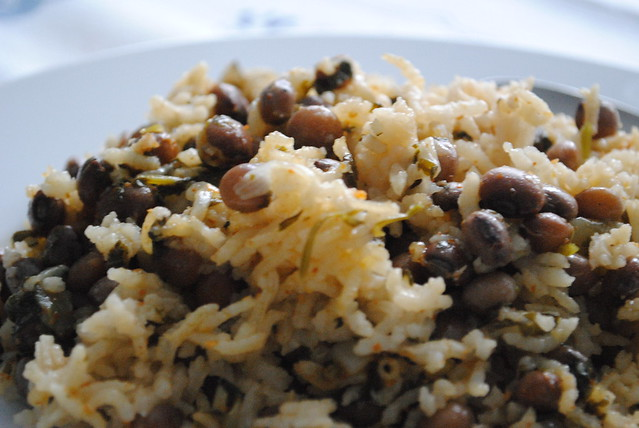 Arroz con Gandules | Puerto Rican Rice with Pigeon Peas