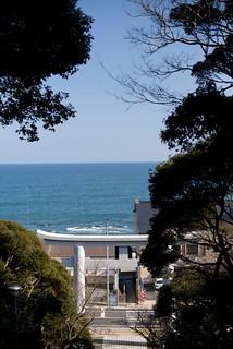 太平洋@大洗磯前神社。