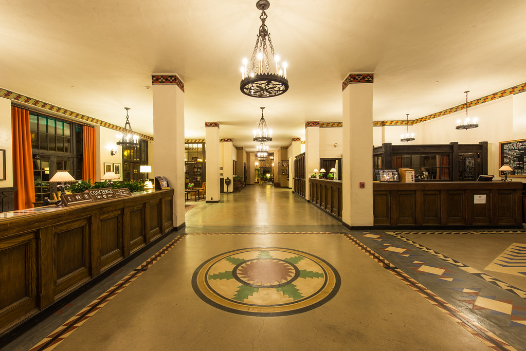 The Overlook Hotel Lobby (The Ahwahnee Hotel, Yosemite National Park)