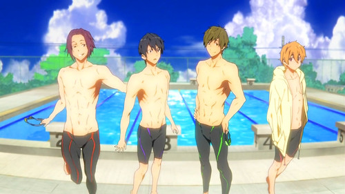 130307(1) - 動畫公司「アニメーションDo」男子競泳新作《FREE!》推出廣告,演出家「内海紘子」坐鎮指揮!【29日更新】