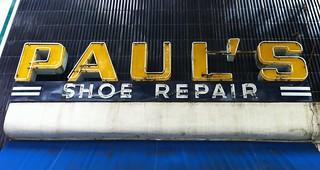 PAUL'S SHOE REPAIR BERKELEY CA.