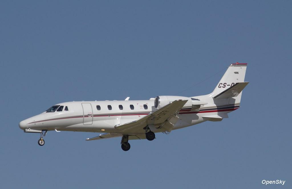 NetJets Europe Cessna 560XL Citation Excel CS-DFP