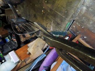 Reshaping spatula blade