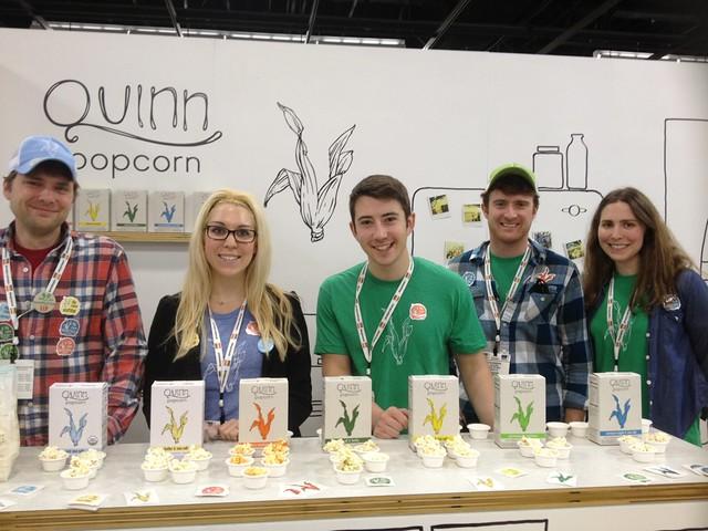 Quinn popcorn team