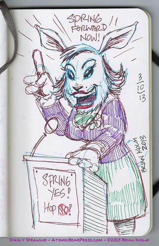 3-10-2013 Political Bunny