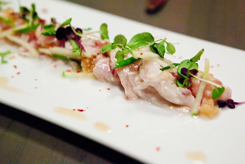 Striped bass ceviche