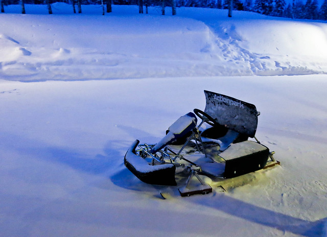 Ice Karting in Lapland