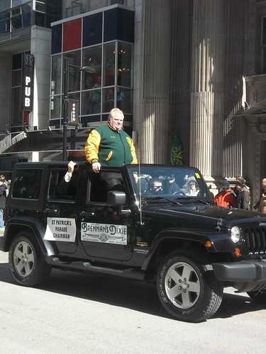 Rob Ford in the St. Patrick's Day Parade (3)