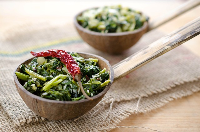 Rapini with Coconut and Spices (1)