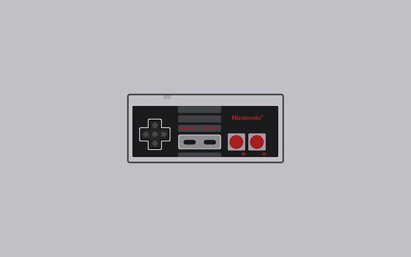 Nintendo NES controller wallpaper