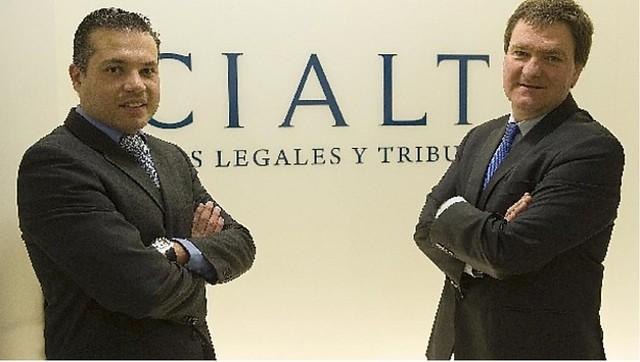 Sergio Vivieros y Juan José Etxeberría