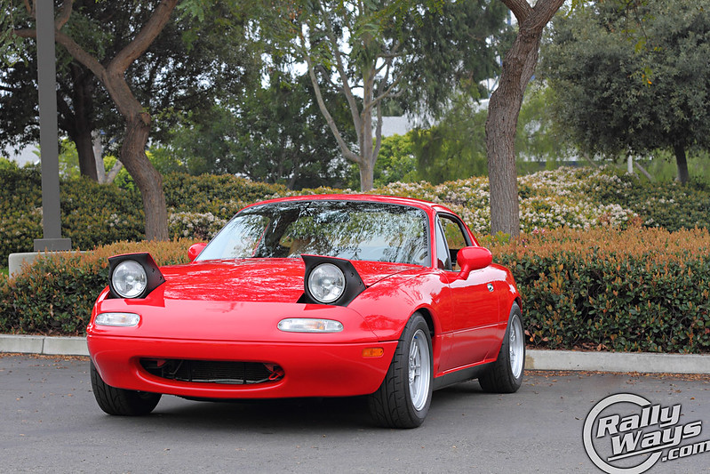 The RallyWays 1995 Mazda Miata