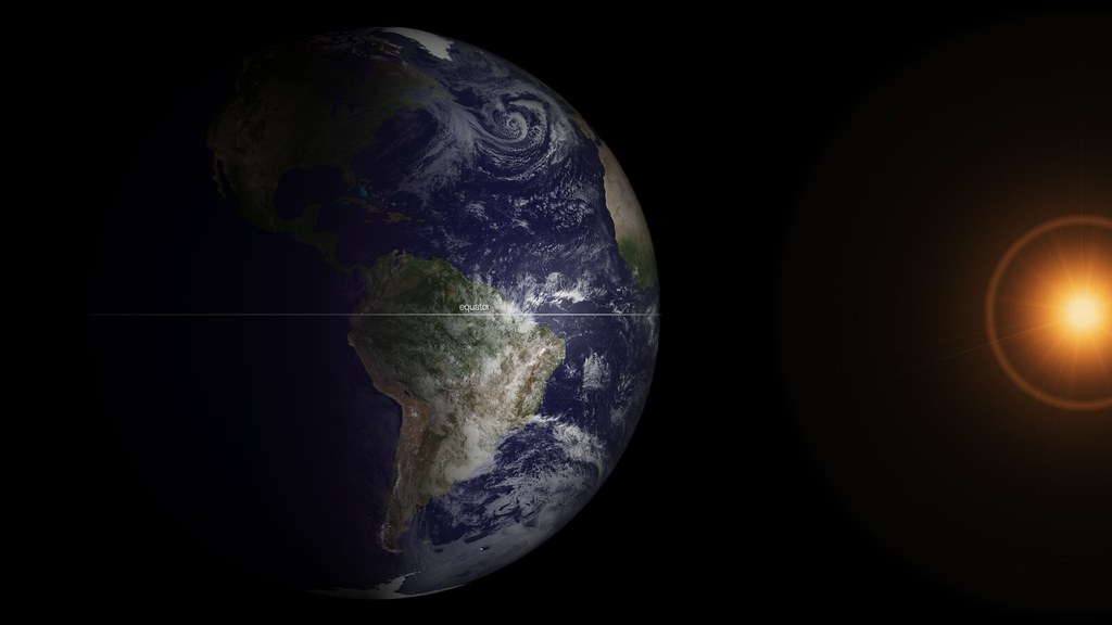 Spring Equinox by NASA