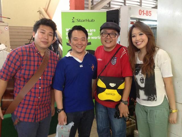 With Mr Brown & Mr Miyagi!