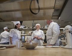 Dr. Breuder Visits Baking Class 22