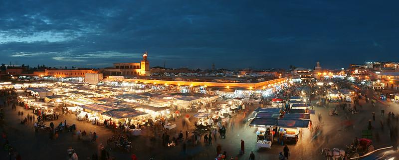 Morocco - Marrakech Djemaa el Fna